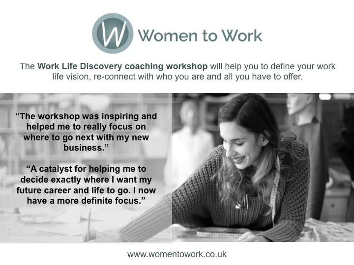 Women to Work Work Life Discovery